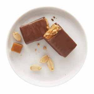 Barre tendre caramel et arachides - Madonnova Esthétique spécialisée