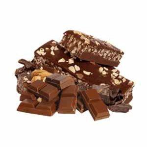Barre tendre chocolat et amandes - Madonnova Esthétique spécialisée