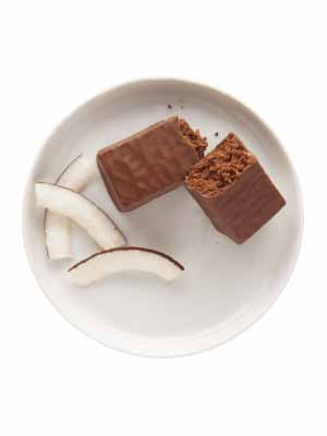 Barre tendre chocolat et noix de coco - Madonnova Esthétique spécialisée
