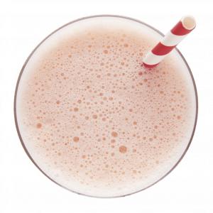 Boisson savoureuse à saveur de fraise et de bananes - Madonnova Esthétique spécialisée