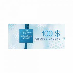 Chèque cadeau Madonnova 100$ - Madonnova Esthétique spécialisée