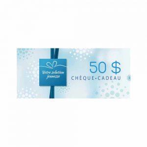 Chèque cadeau Madonnova 50$ - Madonnova Esthétique spécialisée